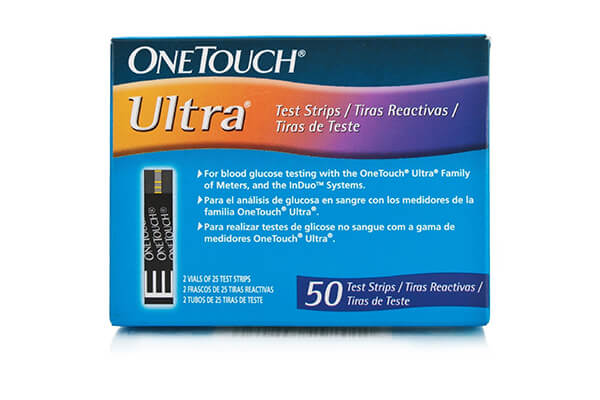 One Touch Ultra Test Strips 50 CT