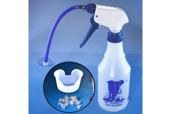 Elephant Ear Washer Bottle System