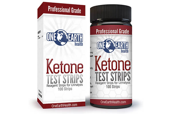 100 Count One Earth Health Advanced Ketone Test Strips