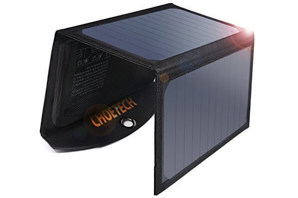 Solar Phone Charger with Dual USB Port