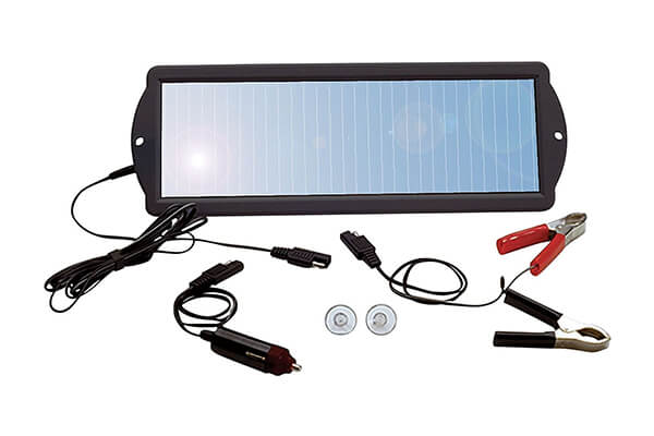 Solar Powered Battery Maintainer Trickle Charger