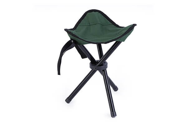 OUTAD Folding Hiking Backpacking Tripod Stool