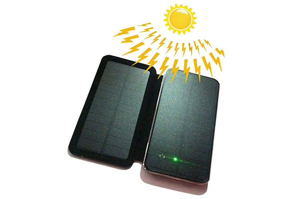 Powerful Portable Solar Charger with Foldable Solar Panels
