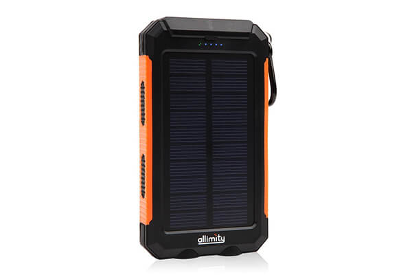 allimity Solar Waterproof Charger