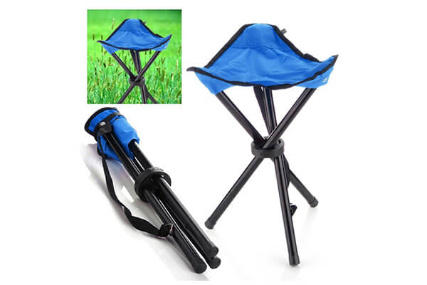 TinyPrice Portable Folding Tripod Stool