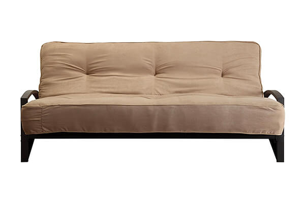 Dhp 8 Inch Independently Encased Coil Premium Futon Mattress Full Size Tan