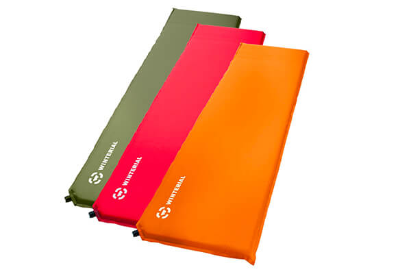 Winterval lightweight self-inflating backpacking and camping sleeping pad.