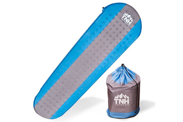 Self-inflating sleeping pad by TNH Outdoors