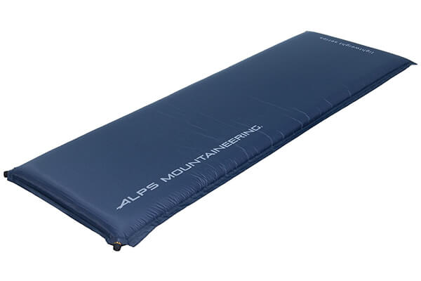 ALPS Mountaineering Lightweight Series self-inflating air pad steel blue