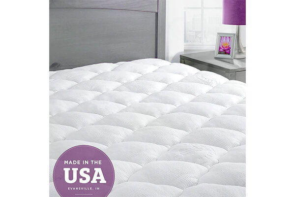 ExceptionalSheets Bamboo Extra Plush Cooling King Mattress Pad