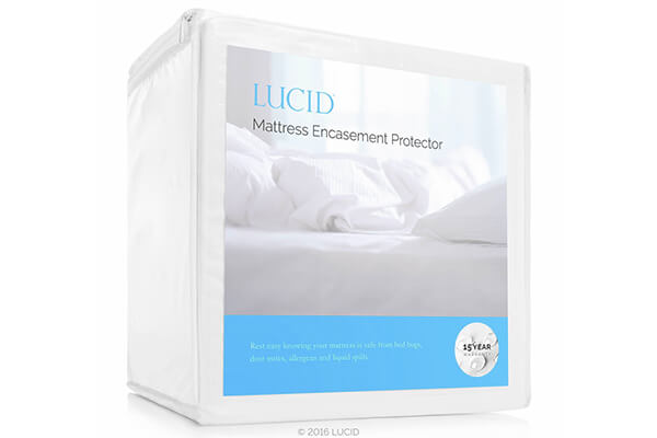 LUCID Encasement Mattress Protector