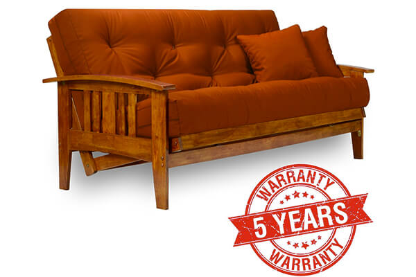 Medium image of westfield wood futon frame  u2013 full size