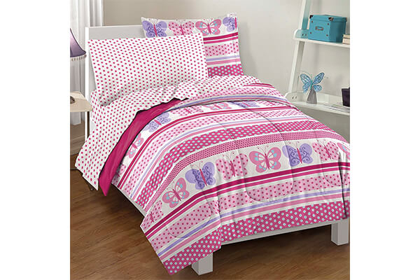 Ultra Soft Microfiber Girls Comforter Set