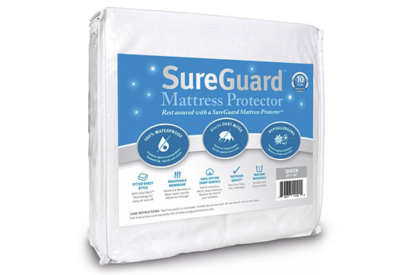 Queen Size SureGuard Mattress Protector