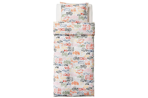 Ikea Ludwig Transportation Kids Duvet Quilt Cover