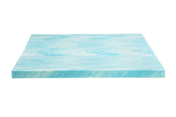 "DreamFoam 2"" Gel Swirl Memory Foam Topper"