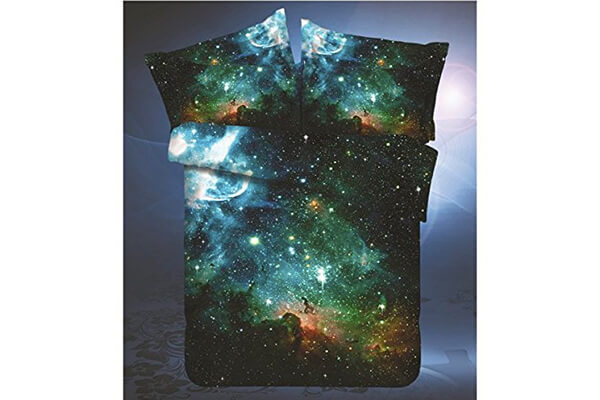 Sandy show Galaxy Quilt Cover