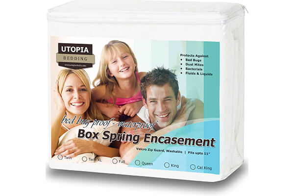 Premium Bed Bug Proof Box Spring Encasement