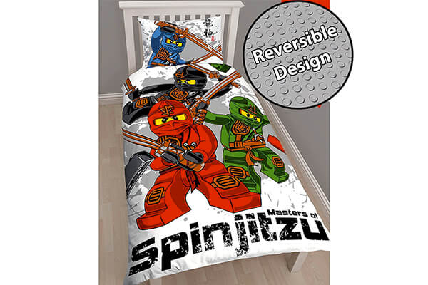 Lego Ninjago Warrior Single/US Twin Duvet Cover