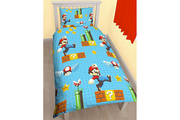 Nintendo Mario Maker Twin Sheet Set