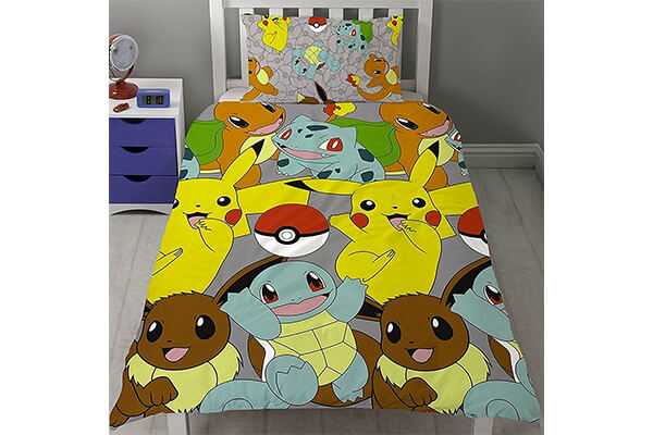 Pokémon Catch UK Single/US Twin Rotary Duvet Cover