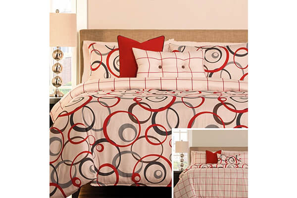 AnyGo Reversible Pieces Duvet Cover Sets