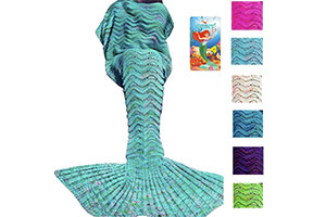 Top 10 Most Comfortable Kid's Mermaid Blankets of All Time Review
