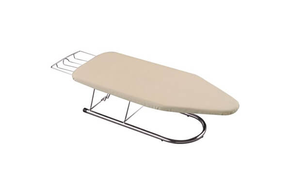 Household Essentials 131200 Chrome Tabletop Mini Ironing Board