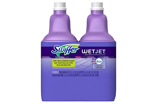 Swiffer WetJet Multi-Purpose Floor and Hardwood Cleaner Solution with Febreze Refill, Lavender Vanilla and Comfort Scent