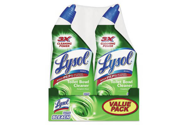 LYSOL Complete Toilet Bowl Cleaner w/ Bleach