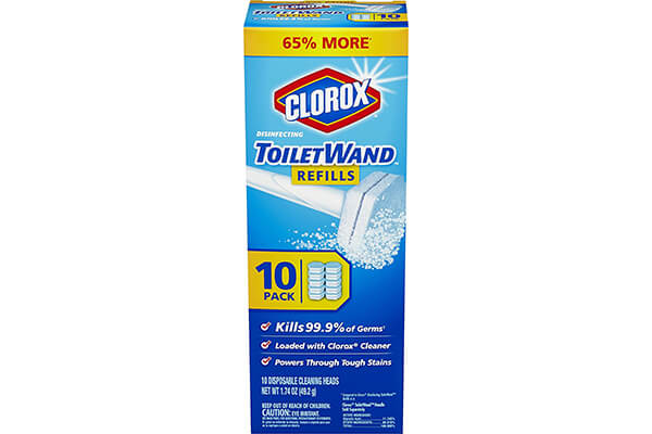 Clorox ToiletWand Disinfecting Refill,30 counts