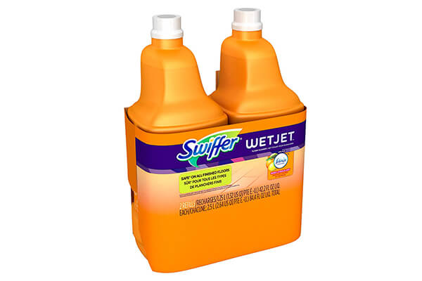 Swiffer WetJet Multi-Purpose Floor and Hardwood Cleaner Solution Refill, Sweet Citrus and Zest Scent
