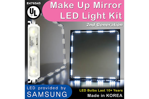 Crystal Vision Makeup Mirror