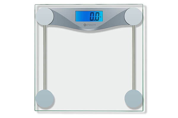 Etektcity digital body weight bathroom scale with step on technology
