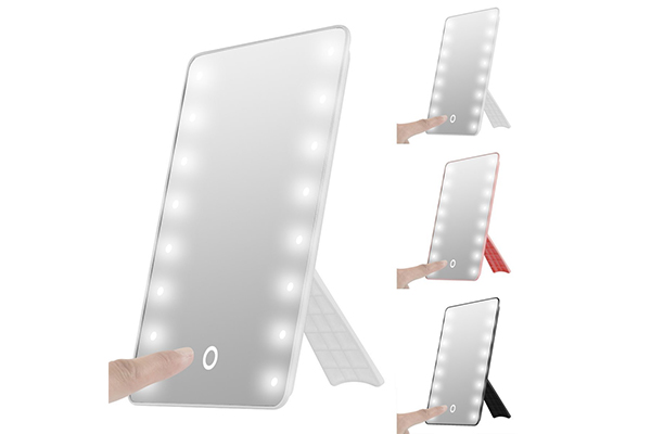 Top 10 Best Free Standing Vanity Mirror With Lights In