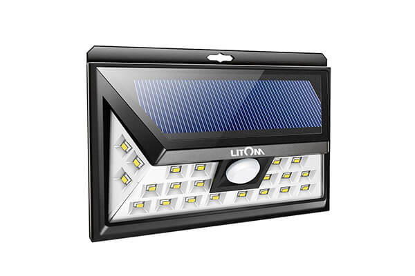 Litom 24 LED Outdoor Solar Lights