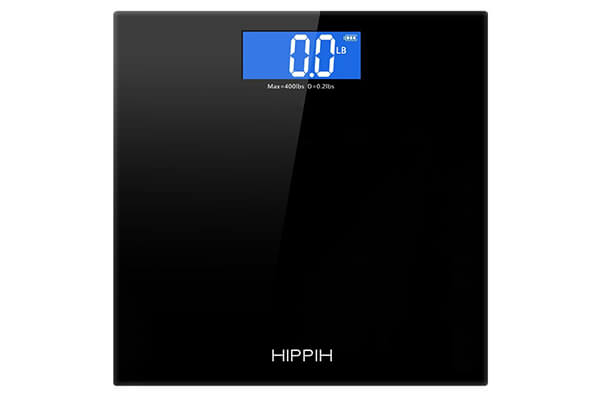Hippih 400lb electronic bathroom scale