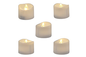 Top 10 Best Flameless Candles for Decor in 2018 Reviews