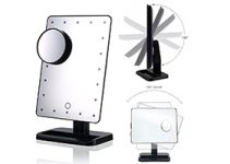 Top 10 Free Standing Vanity Mirror with Lights Reviews