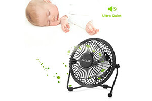 Top 10 Best Quiet Personal Fans for Sleeping in 2019 Reviews