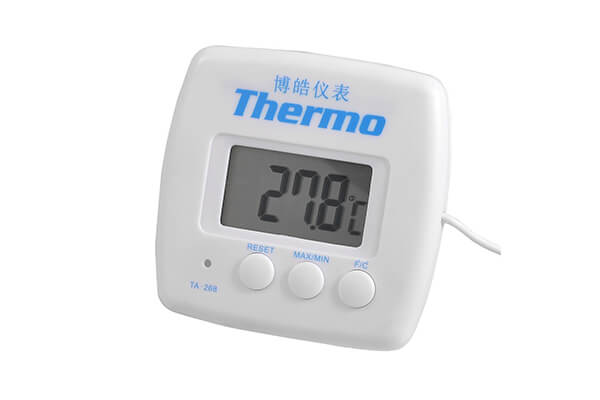 8. Uxcell LCD display resettable refrigerator freezer digital thermometer.