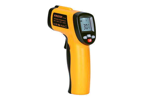 5. KingTop digital infrared thermometer.