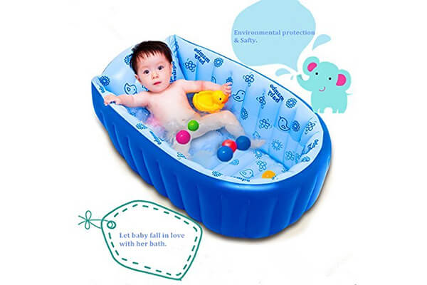 Movker Inflatable Baby Bathing Tubs and Seats