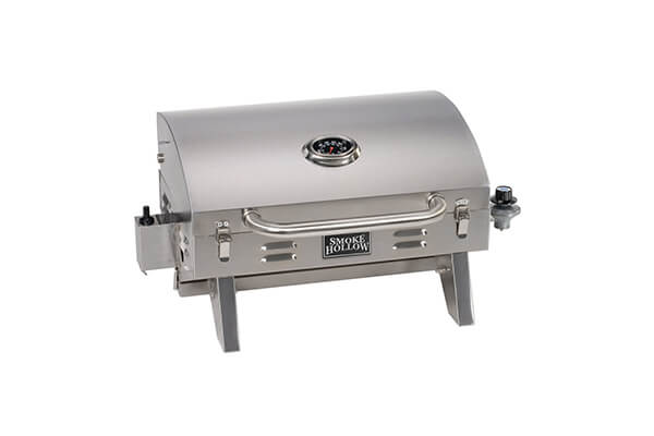Smoke Hollow Stainless Steel Portable Table Top Propane Gas Grill