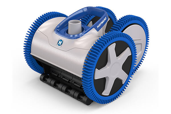Hayward PHS41CST Aquanaut 400 Suction Drive 4-Wheel Pool Cleaner with 40 Feet Hose Kit, Gray and Blue