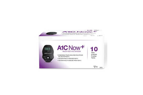 PTS Diagnostics A1C Now+ Multi-Test Blood Glucose Monitor