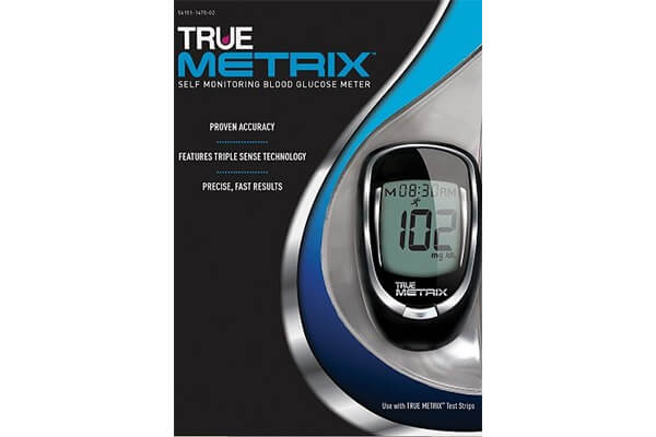 TrueMetrix Blood Glucose Testing Kit