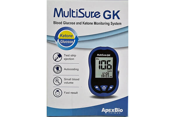 NEW MULTISURE KETONES AND BLOOD SUGAR MONITOR.