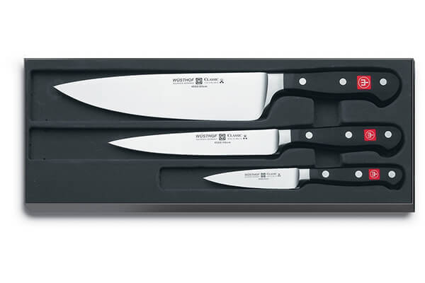 "Wüsthof - Three Piece Cook's Set - 3 1/2"" Paring Knife"