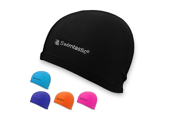 Swimtastic Lycra Swim Cap – 5 Stylish Colors to Choose From
